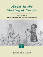 Asia in the Making of Europe, Volume I
