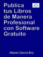 Publica tus libros de manera profesional con software gratuito