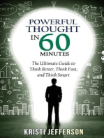 Powerful Thought in 60 Minutes