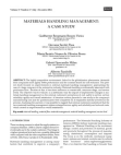 White Paper on Materials Handling Management
