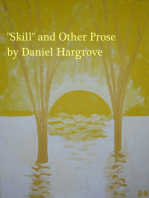 """Skill"" and Other Prose"