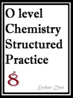 O level Chemistry Structured Practice Papers 8