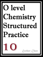 O level Chemistry Structured Practice Papers 10