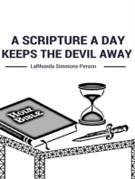 A Scripture A Day Keeps the Devil Away