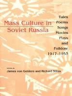 Mass Culture in Soviet Russia