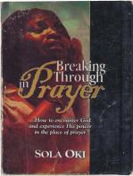 Breaking Through In Prayer