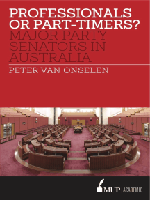 Professionals or Part-timers?: Major Party Senators in Australia