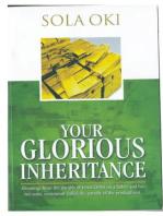 Your Glorious Inheritance