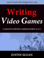 Writing Video Games