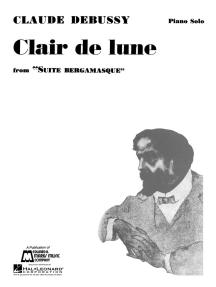 Clair de Lune: Piano Solo