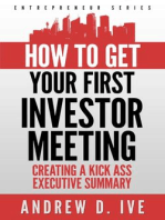 Get Your First Investor Meeting