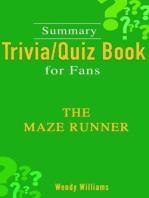The Maze Runner [Summary Trivia/Quiz for Fans]