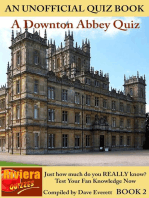 Downton Abbey Quiz Book 2 (Downton Abbey Quizzes, #2)