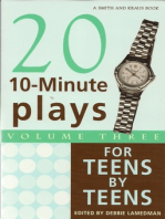 10-Minute Plays for Teens by Teens, Volume III
