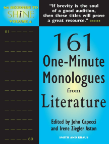 60 Seconds to Shine, Volume 4: 101 Original One-Minute Monologues