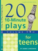 10-Minute Plays for Teens, Volume II