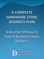 A Complete Hardware Store Business Plan