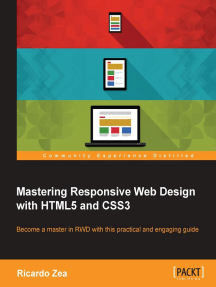 Read Mastering Responsive Web Design With Html5 And Css3 Online By Ricardo Zea Books