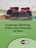 Language Ideology, Policy and Planning in Peru
