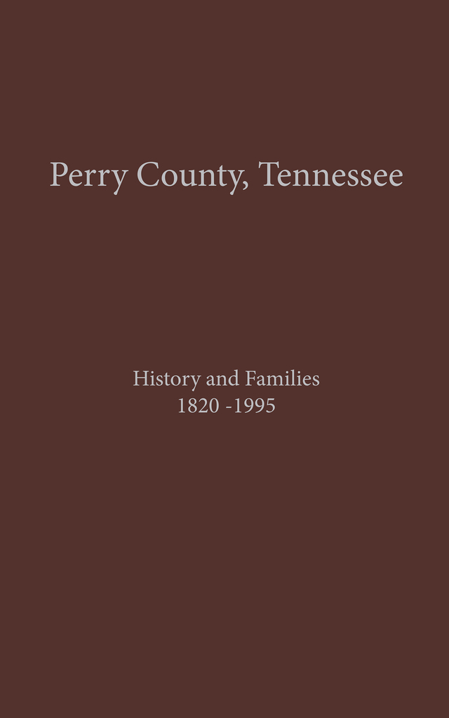 Perry County, TN Volume 1 by Turner Publishing - Read Online