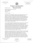 Letter From Us Congress Members Free download PDF and Read online