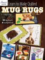 Learn to Make Quilted Mug Rugs