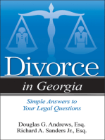 Divorce in Georgia
