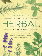 Llewellyn's 2016 Herbal Almanac