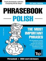English-Polish phrasebook and 3000-word topical vocabulary