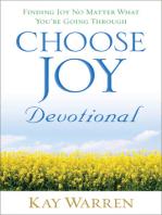 Choose Joy Devotional
