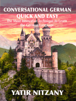 Conversational German Quick and Easy