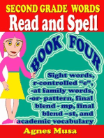 Second Grade Words Read And Spell Book Four