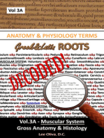 Anatomy & Physiology Terms Greek&Latin ROOTS DECODED! Vol.3AB: Muscular System: Gross Anatomy & Histology