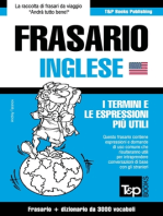 Frasario Italiano-Inglese e vocabolario tematico da 3000 vocaboli