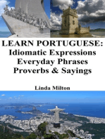 Learn Portuguese: Idiomatic Expressions ‒ Everyday Phrases ‒ Proverbs & Sayings