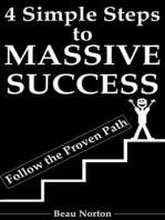 4 Simple Steps to Massive Success