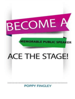 Become A Memorable Public Speaker
