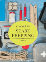 10 Ways to Start Prepping Today