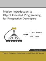 Modern Introduction to Object Oriented Programming for Prospective Developers