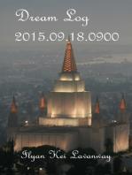 Dream Log 2015.09.18.0900