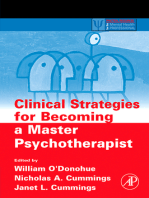 Clinical Strategies for Becoming a Master Psychotherapist