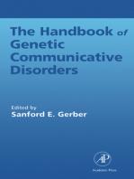 Handbook of Genetic Communicative Disorders