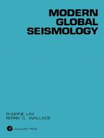 Modern Global Seismology