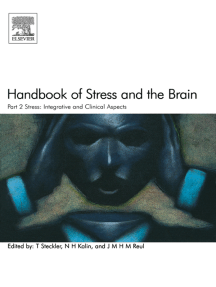 Handbook of Stress and the Brain Part 2: Stress: Integrative and Clinical Aspects