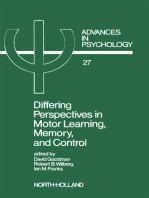 Differing Perspectives in Motor Learning, Memory, and Control