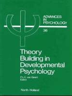 Theory Building in Developmental Psychology