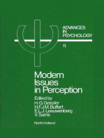 Modern Issues in Perception