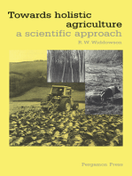 Towards Holistic Agriculture