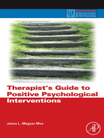 Therapist's Guide to Positive Psychological Interventions