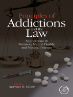Principles of Addictions and the Law